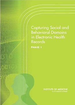 Publication cover of Capturing Social and Behavioral Domains in Electronic Health Records Phase 1